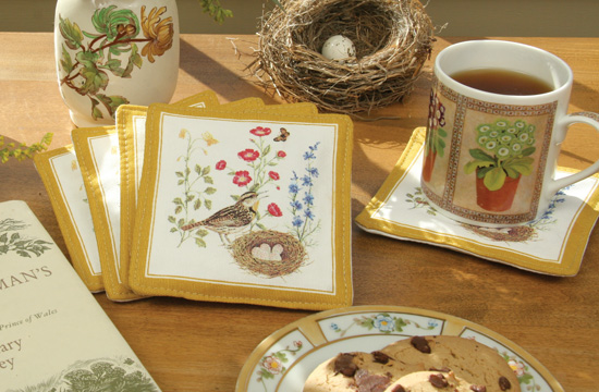 Alice's Cottage Mug Mat